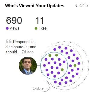 LinkedIn - Responsible disclosure
